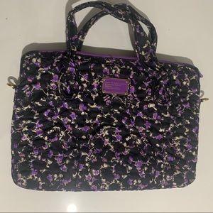 """Marc Jacobs 15"""" Floral Laptop Case 💜🌸"""